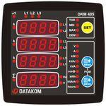 DKM-405 Анализатор сети, 96х96мм, THD, 1-вх, 1-вых, AC, фото 1
