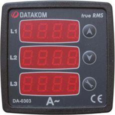 DA-0303 амперметр, 3-фазный, фото 1