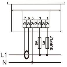 DM-0301 мультиметр, 1-фазный, фото 3