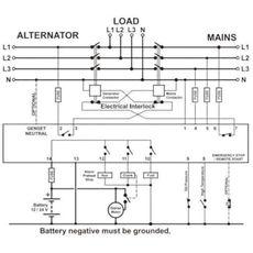 DKG-105 AMF Контроллер управления генератором и переключением резерва, фото 3