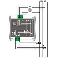 DKM-401 Цифровой мультиметр, 96х96 мм, AC, фото 2