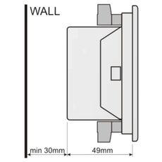 DKM-401 Цифровой мультиметр, 96х96 мм, AC, фото 3