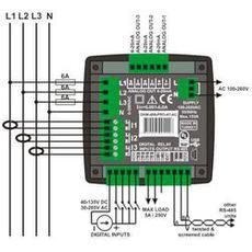 DKM-409-PRO Анализатор сети с расширенным функционалом, фото 3