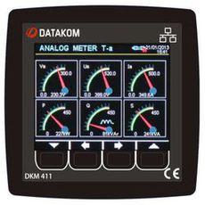 DKM-411 Анализатор сети, TFT дисплей, фото 1
