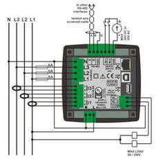 DKM-411 Анализатор сети, TFT дисплей, фото 4