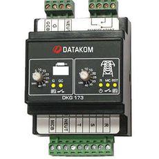 DKG-173 ATS контроллер переключения резерва на DIN рейку, фото 1