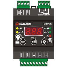 DKG-175 программируемый ATS контроллер переключения резерва на DIN рейку, фото 1