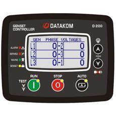 D200-MK2 Многофункциональный настраиваемый контроллер управлением генераторными установками, фото 1
