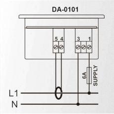 DA-0101 амперметр, 1-фазный, Типоразмер: 72х72 мм, фото 2