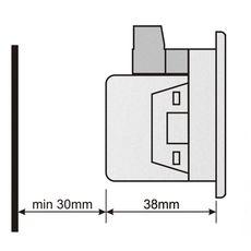 DA-0103 амперметр, 3-фазный, Типоразмер: 72х72 мм, фото 4