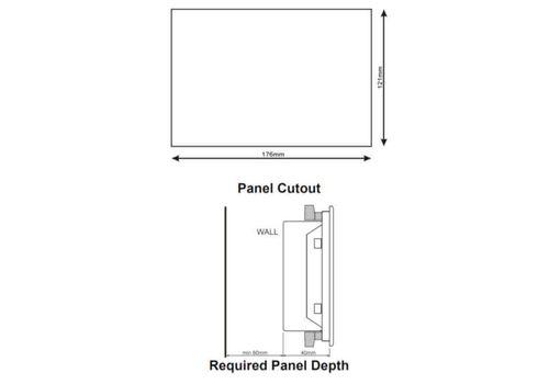 D-500 LITE Инновационный контроллер генераторной установкой с резервированием вводов. Протоколы RS485, RS232, J1939-CANBUS, MPU. Доступен GSM модем, фото 5