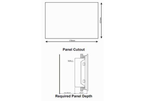 D-500 Инновационный контроллер управления генераторной установкой и резервированием вводов. Доступны протоколы Ethernet, RS485, RS232, J1939-CANBUS, USB host., фото 5