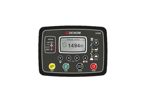 D-500 LITE Инновационный контроллер генераторной установкой с резервированием вводов. Протоколы RS485, RS232, J1939-CANBUS, MPU. Доступен GSM модем, фото 1