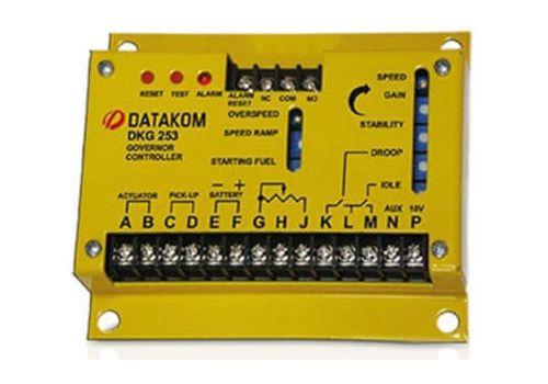 Элетронный регулятор оборотов двигателя DKG-253, регеулятор скорости вращения, фото 2