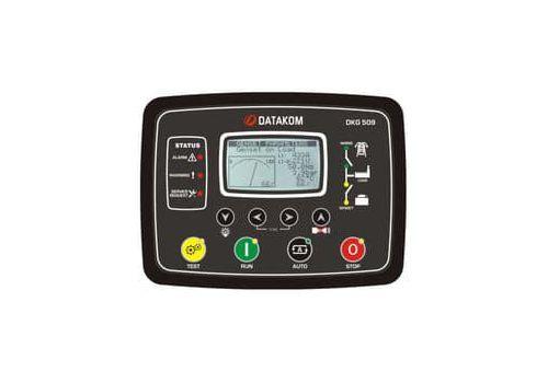 Контроллер автоматического запуска генератора DKG-509 с MPU или J1939-CANBUS и LCD дисплеем, фото 1