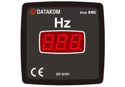 DF-0101 частотомер, 1-фазный, Типоразмер: 72х72 мм, фото 1