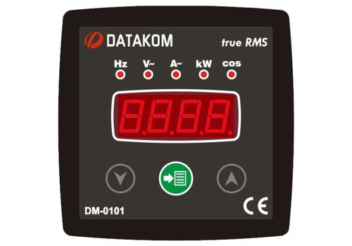 DM-0101 мультиметр, 1-фазный, Типоразмер: 72х72 мм, фото 1