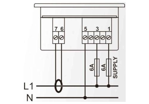 DM-0101 мультиметр, 1-фазный, Типоразмер: 72х72 мм, фото 2