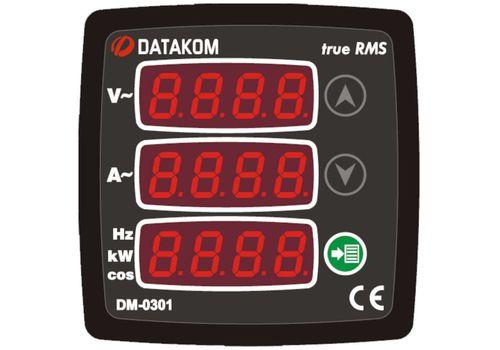 DM-0301 мультиметр, 1-фазный, фото 1