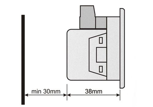 DM-0301 мультиметр, 1-фазный, фото 4