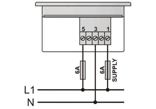 DVF-0101 вольтметр-частотомер, 1-фазный, Типоразмер: 72х72 мм, фото 2