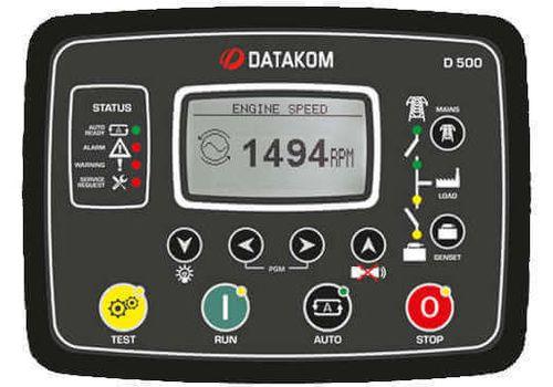D-500 Инновационный контроллер управления генераторной установкой и резервированием вводов. Доступны протоколы Ethernet, RS485, RS232, J1939-CANBUS, USB host., фото 1