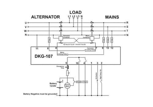 Модуль автоматического запуска генератора DKG-107. Не требует программирования., фото 2