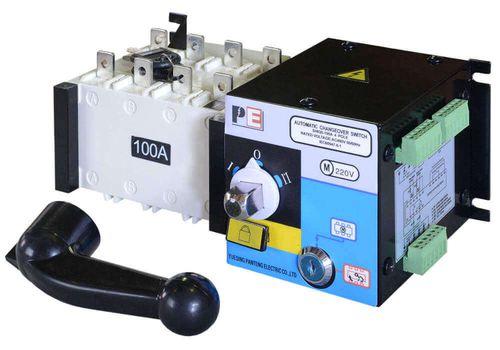 Реверсивный рубильник SQ5-125 для организации АВР с током 125 А и мощностью до 70кВт, фото 1