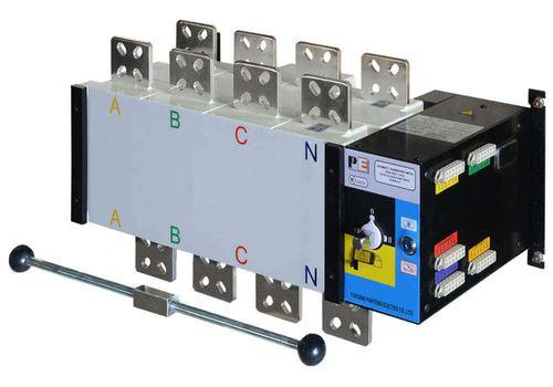 Реверсивный рубильник SQ5-1250 для организации АВР с током 1250 А и мощностью до 863кВт, фото 1