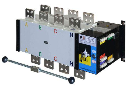 Реверсивный рубильник SQ5-1600 для организации АВР с током 1600 А и мощностью до 1100кВт, фото 1