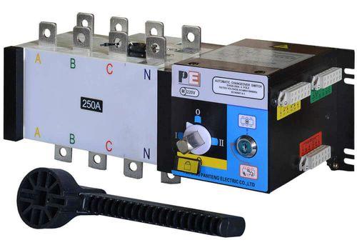 Реверсивный рубильник SQ5-250 для организации АВР с током 250 А и мощностью до 173кВт, фото 1