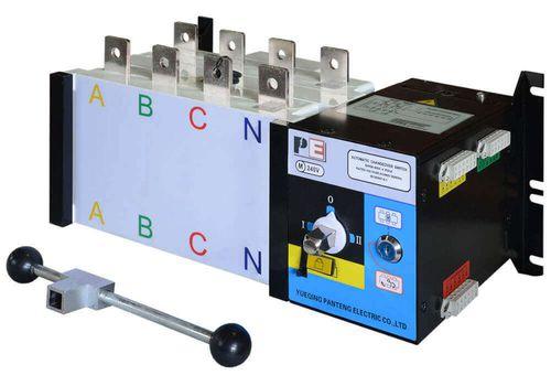 Реверсивный рубильник SQ5-400 для организации АВР с током 400 А и мощностью до 276кВт, фото 1