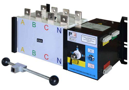 Реверсивный рубильник SQ5-630 для организации АВР с током 630 А и мощностью до 435кВт, фото 1