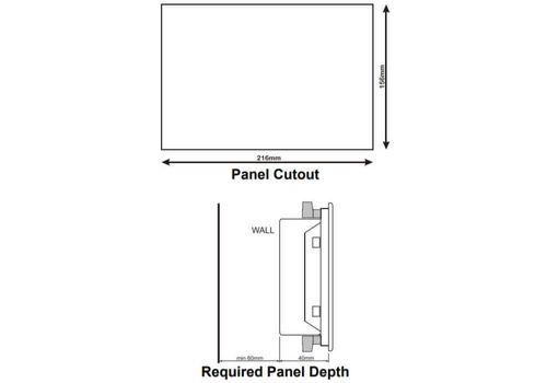 Многофункциональный модуль автоматического запуска генератора с резервированием вводов D-700 Datakom,  ethernet, RS-485б RS-232, modbus и пр. Доступен с цветным TFT монитором., фото 3