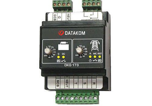 ATS контроллер DKG-173 на DIN рейку для комплектации АВР генератора, фото 1