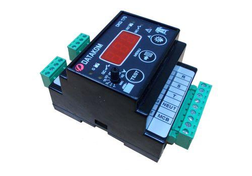 Программируемый ATS контроллер DKG-175 на DIN рейку с дисплеем для комплектации АВР генератора, фото 2