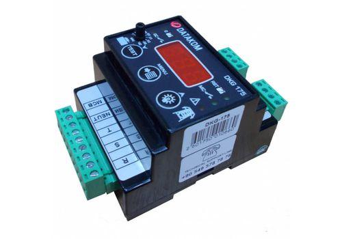 Программируемый ATS контроллер DKG-175 на DIN рейку с дисплеем для комплектации АВР генератора, фото 3