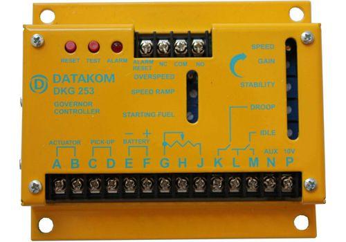 Элетронный регулятор оборотов двигателя DKG-253, регеулятор скорости вращения, фото 1