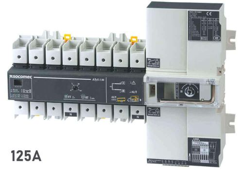 ATyS t M 4X125A F 230/400Vac, фото 1