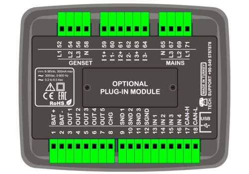 D100-MK2 Контроллер с настраиваемым слотом, фото 2