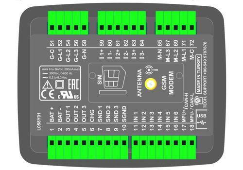 D200-MK2 Контроллер с настраиваемым слотом, фото 2