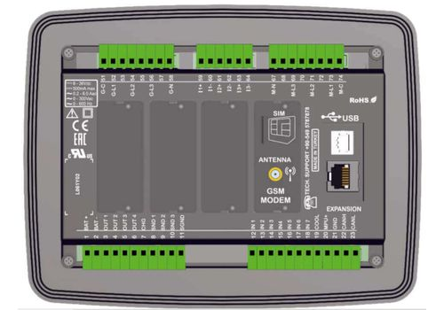 D500LITE-MK2 Контроллер с настраиваемыми слотами, фото 2
