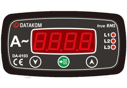 DA-0103 амперметр, 3-фазный, Типоразмер: 72х72 мм, фото 1