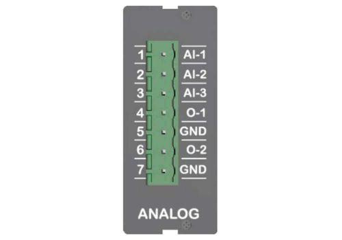 ANALOG IO EXTENSION, модуль расширения аналоговых вховов/выходов (L060G), фото 1