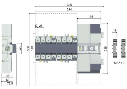 ATyS p M 4X100A F 230/400Vac, фото 2