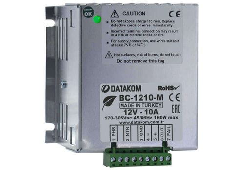 Автоматическое зарядное устройство на 10А 12В BC-1210-M, фото 1