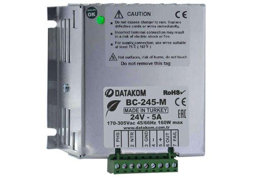 Автоматическое зарядное устройство на 5А на 24В BC-245-M, фото 1
